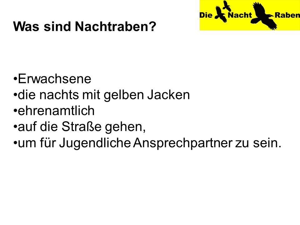Vielen Dank für Ihre Aufmerksamkeit Weitere Informationen unter: www.nachtrabe.info (Schleswig) www.nacht-rabe.de (Kappeln)