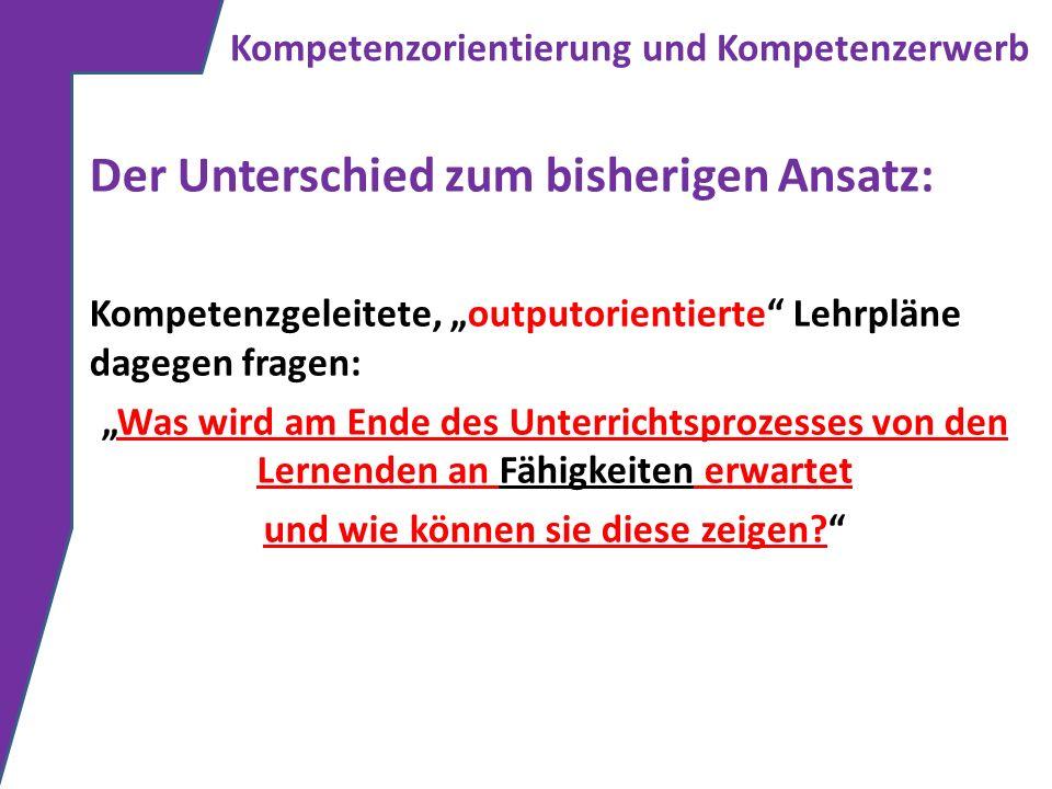 Prozessorientierte Kompetenzen Übergreifende Kompetenzen: musikalische Gestaltung (z.B.