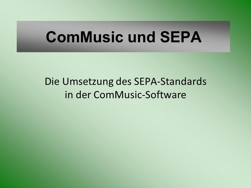 SEPA – Umstellung Protokoll