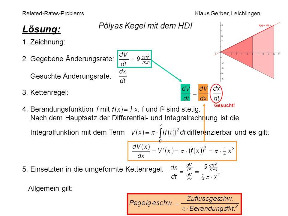 4. Berandungsfunktion f mit. f und f 2 sind stetig. Nach dem Hauptsatz der Differential- und Integralrechnung ist die Integralfunktion mit dem Term di