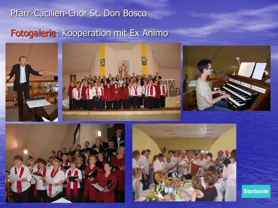 Fotogalerie: Kooperation mit Ex Animo Pfarr-Cäcilien-Chor St. Don Bosco Startseite