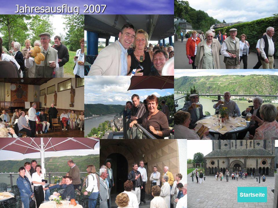 Jahresausflug 2007 Startseite
