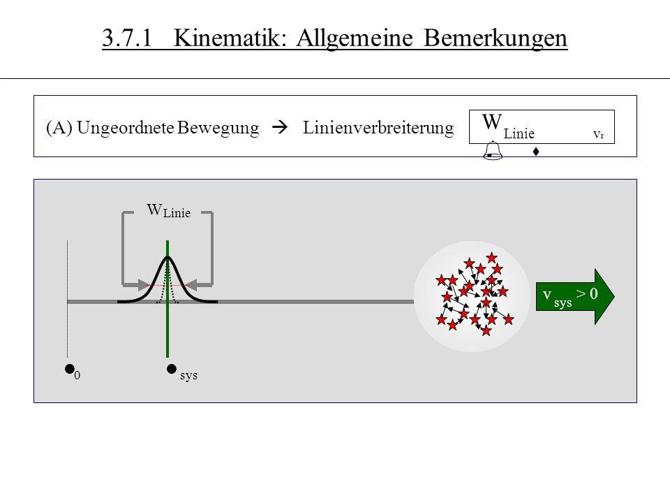 3.7 (B) Rotation v < 0 v > 0 sys r r Dl > 0 ll 0sys Dl < 0 3.7.1 Kinematik: Allgemeine Bemerkungen