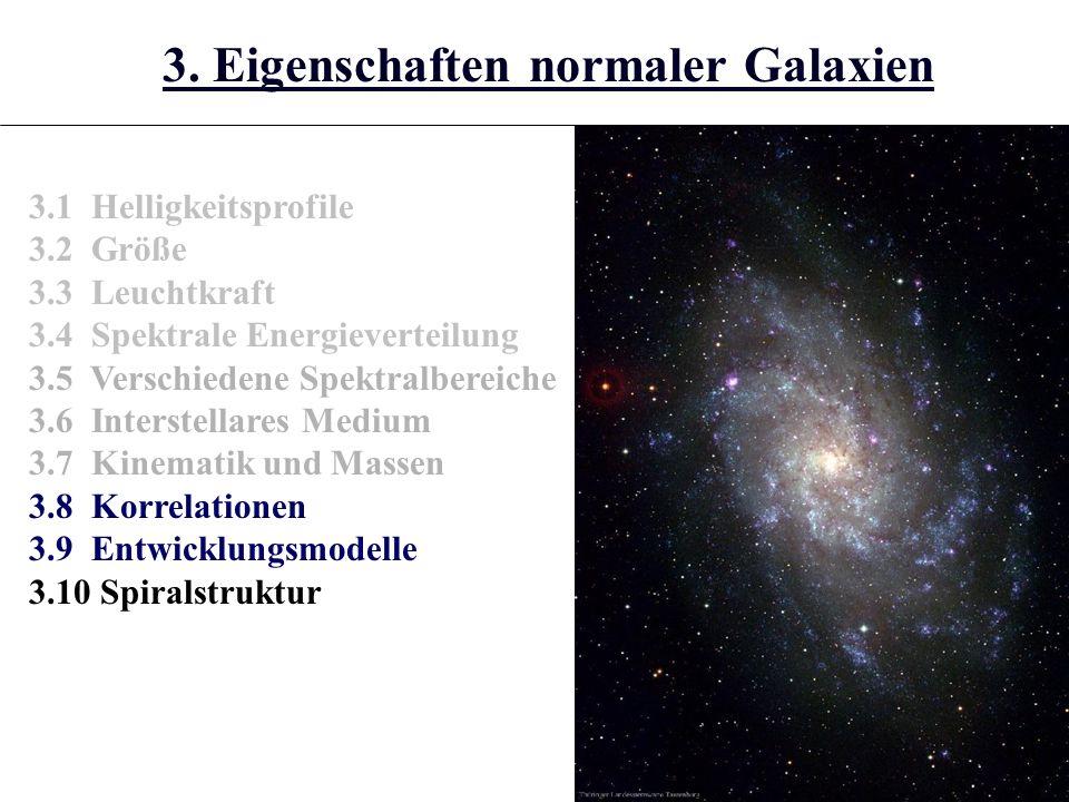 3.10.4 (A) Nukleo-Kosmochronologie (B) Sternentwicklungsalter (C) Kühlungszeiten Weißer Zwerge Konsistentes Ergebnis: Beginn der Sternentstehung in unserer Galaxis vor ca.