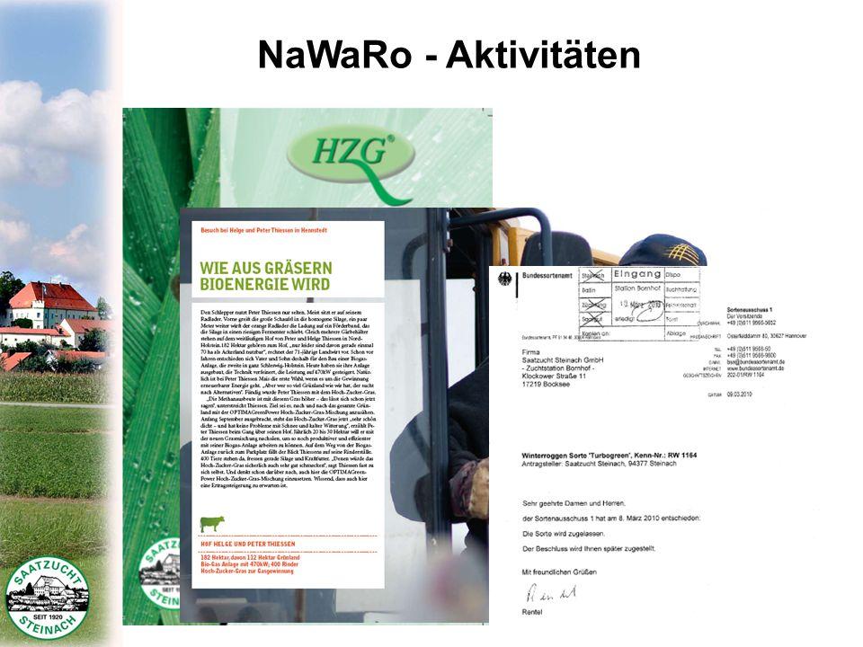 NaWaRo - Aktivitäten