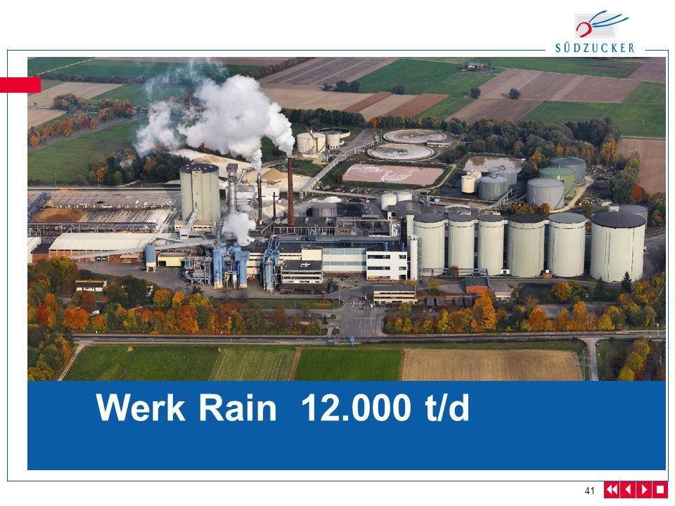 41 Werk Rain 12.000 t/d