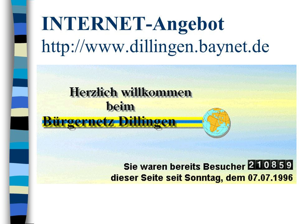INTERNET-Angebot