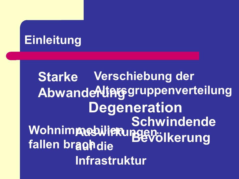 Bevölkerungsentwicklung in Thüringen - Alterung der Gesellschaft - Altersdurchschnitt Thüringens liegt derzeit bei ca.