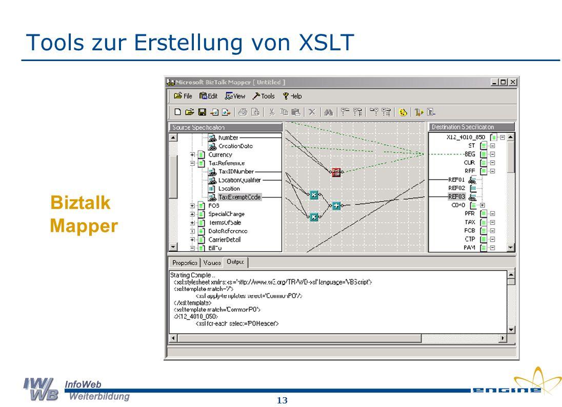 13 Tools zur Erstellung von XSLT Biztalk Mapper