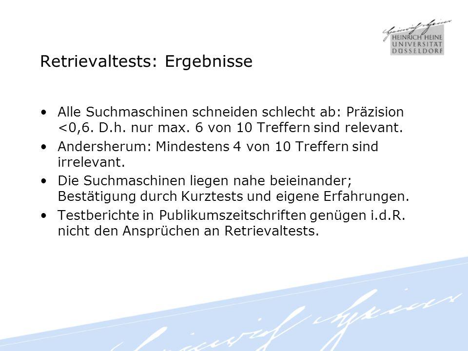 Vielen Dank. www.durchdenken.de/lewandowski dirk.lewandowski@uni-duesseldorf.de