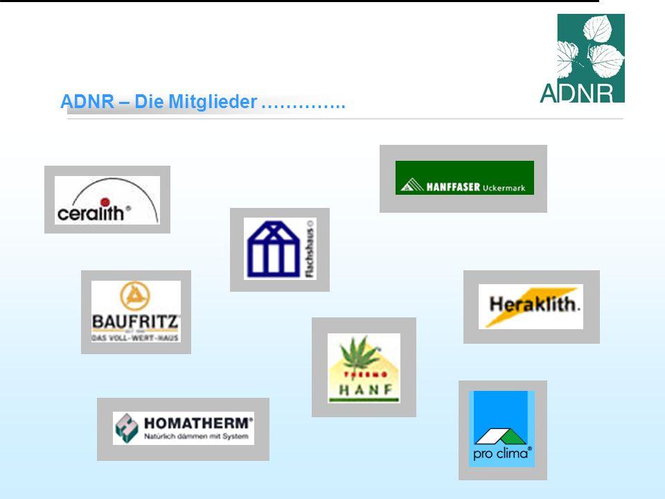 ADNR – Die Mitglieder …………..