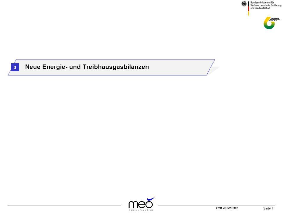 © meó Consulting Team Seite 11 3 Neue Energie- und Treibhausgasbilanzen