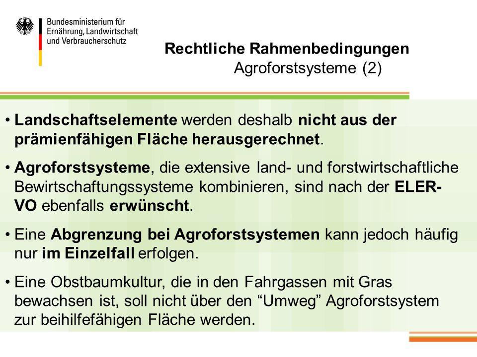 Fazit Die allgemeinen und ökonomischen Rahmenbedingungen für den nachwachsenden Rohstoff Holz und damit indirekt Kurzumtriebsplantagen und Agroforstsysteme sind gut.