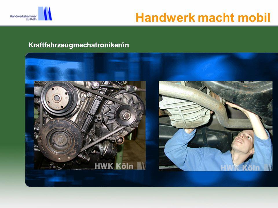 Kraftfahrzeugmechatroniker/in