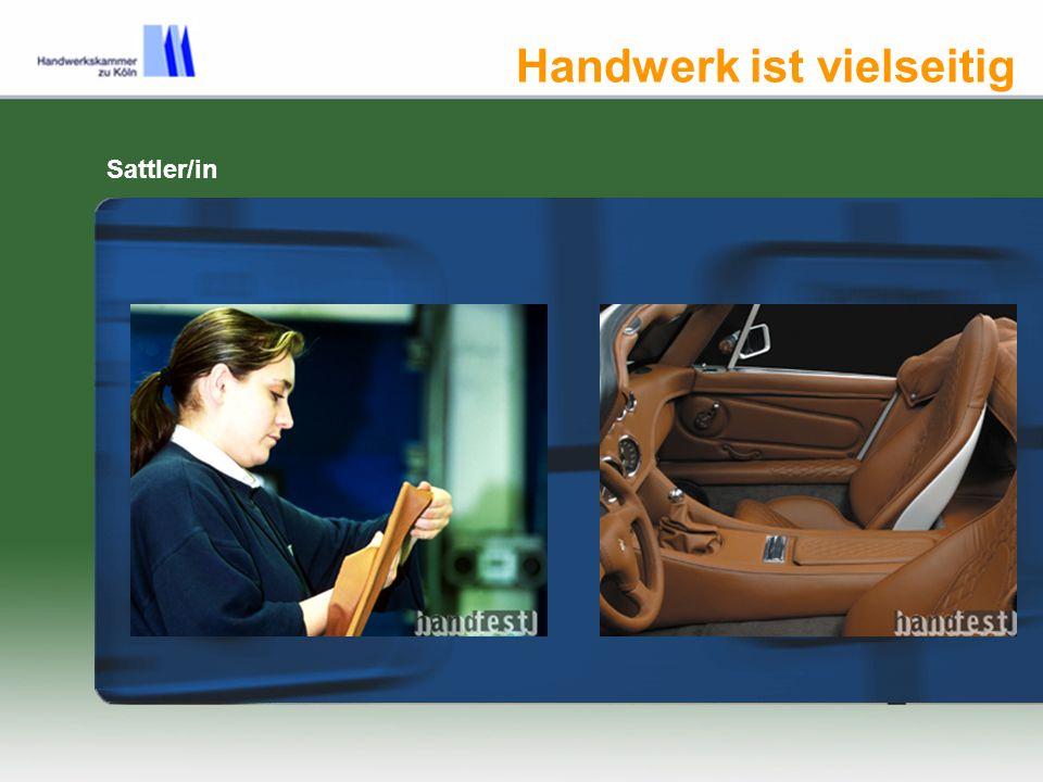 Handwerk ist vielseitig Elektroniker /in für Maschinen- und Antriebstechnik