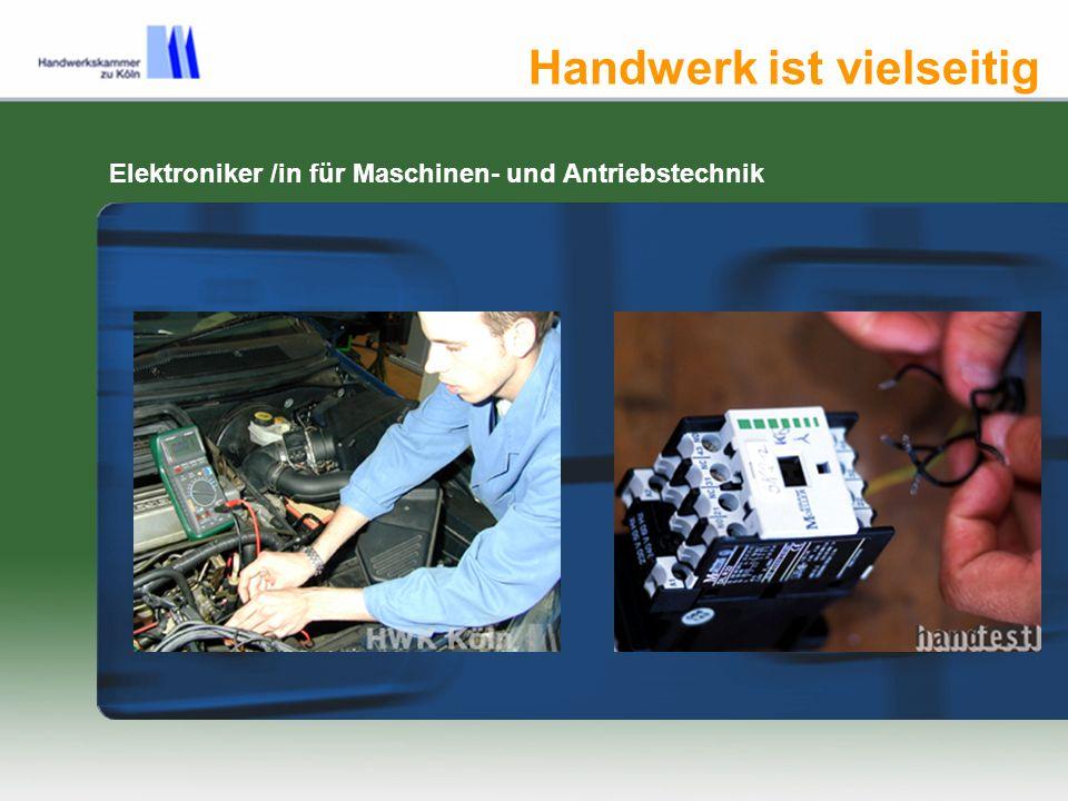 Handwerk macht mobil Mechaniker/in für Landmaschinentechnik