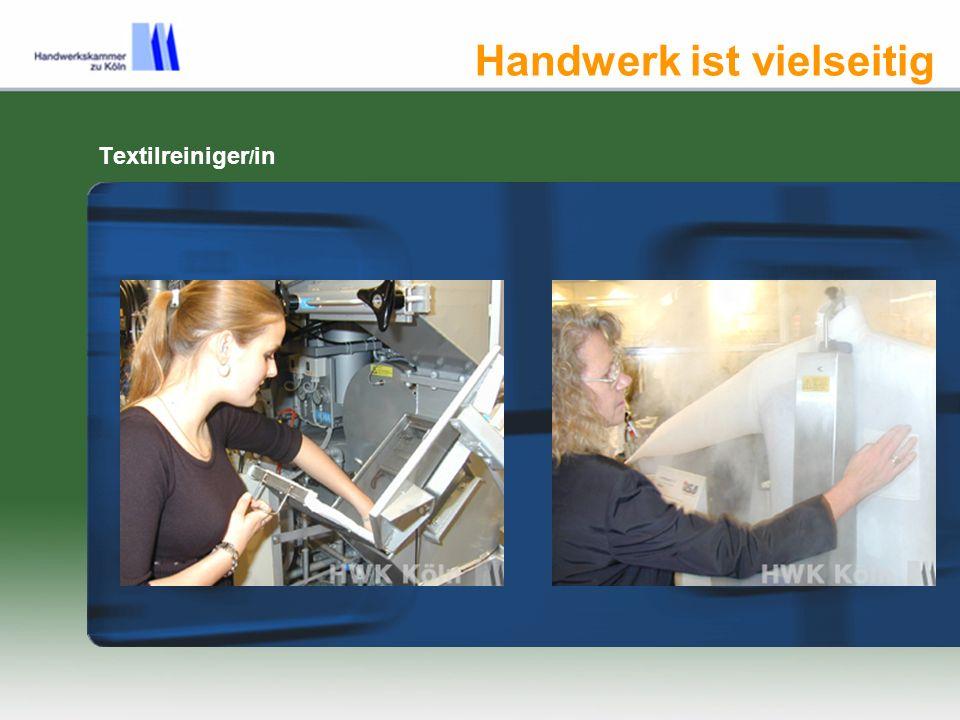 Handwerk ernährt Infos zu Berufen im Handwerk www.berufsinfo.org