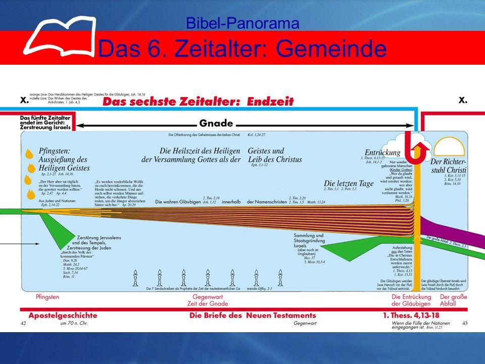 6.ZA Gemeinde Bibel-Panorama Das 6. Zeitalter: Gemeinde