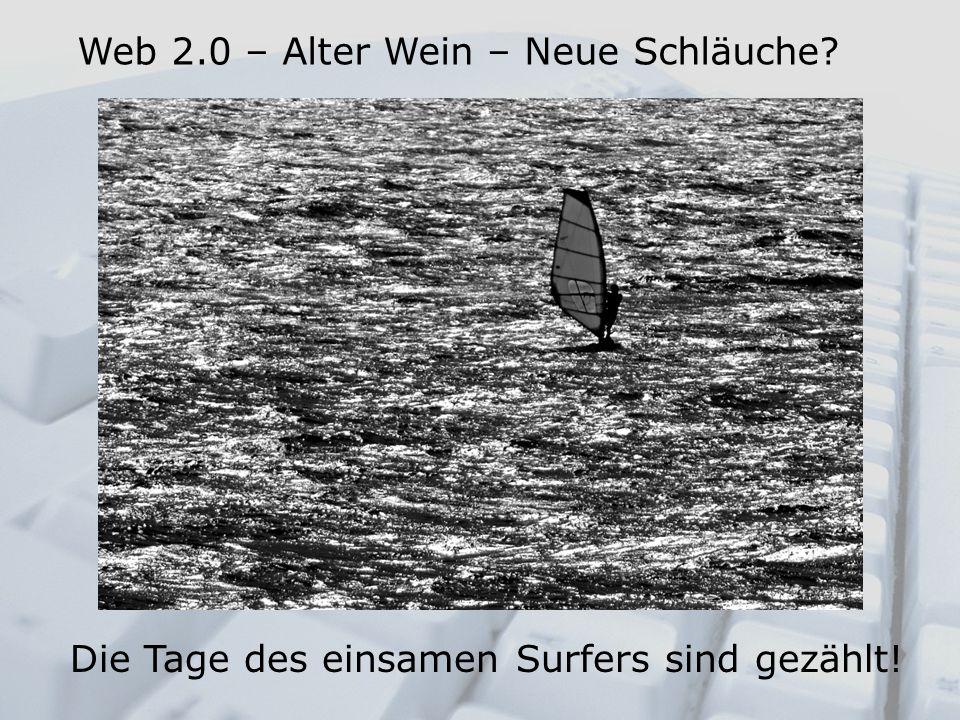 Die Tage des einsamen Surfers sind gezählt!