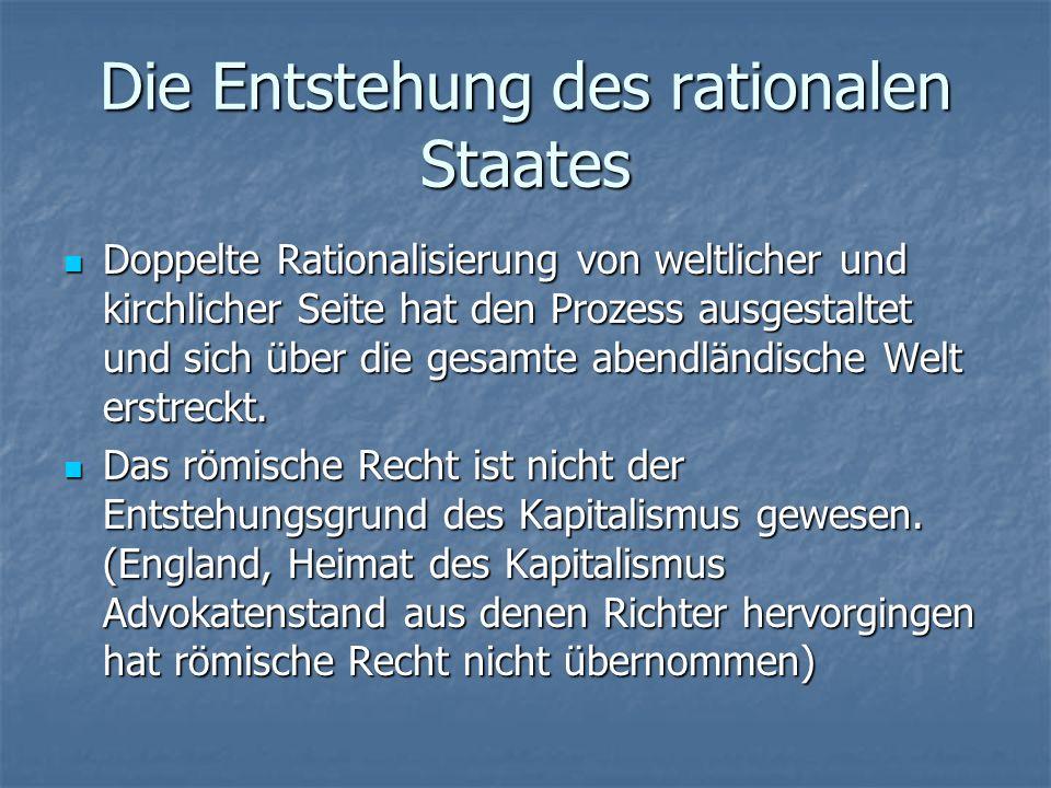 Die Entstehung des rationalen Staates Rentenbrief, Aktie, Handelsgesellschaft, Hypothek...