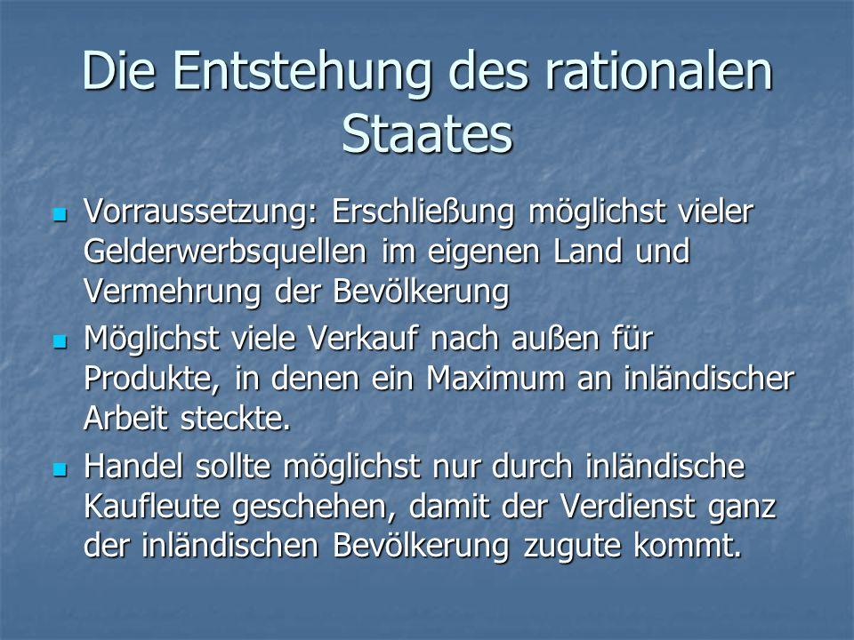 Der Staatliche Herrschaftsbetrieb als Verwaltung Die zweite Kategorie von Berufspolitikern, waren die humanistisch gebildeten Literaten.