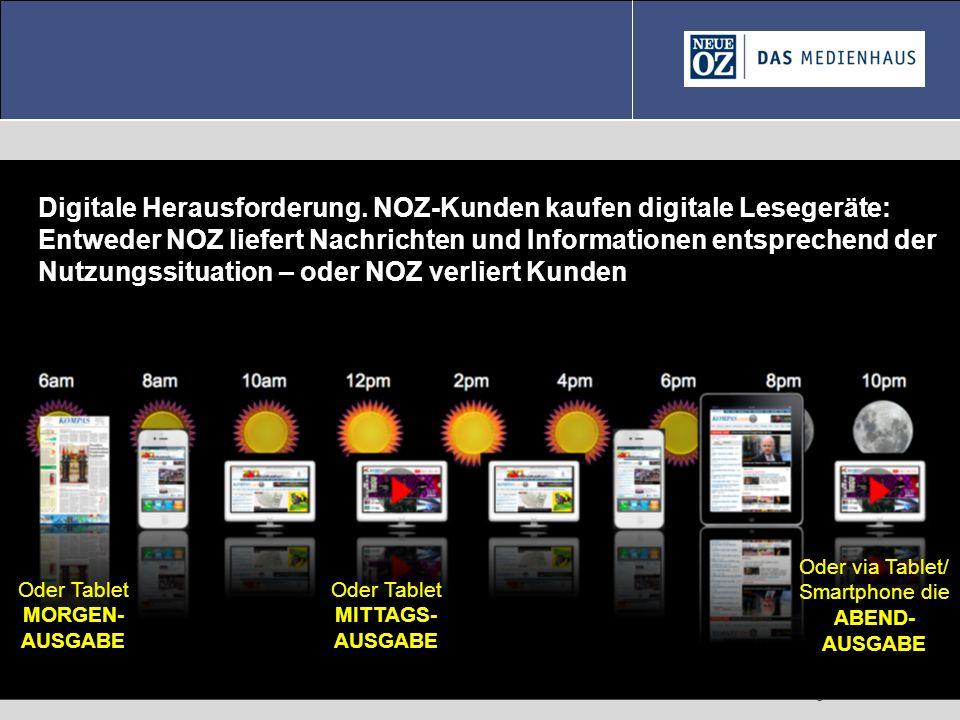 © Gregor Waller 2012-06-21 Oder Tablet MORGEN- AUSGABE Oder Tablet MITTAGS- AUSGABE Oder via Tablet/ Smartphone die ABEND- AUSGABE Digitale Herausford