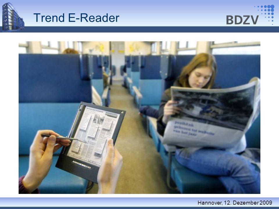 Trend E-Reader Hannover, 12. Dezember 2009