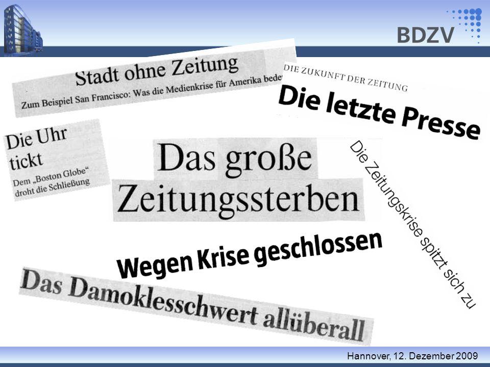 Danke für Ihre Aufmerksamkeit Hans-Joachim Fuhrmann fuhrmann@bdzv.de www.bdzv.de Hannover, 12.