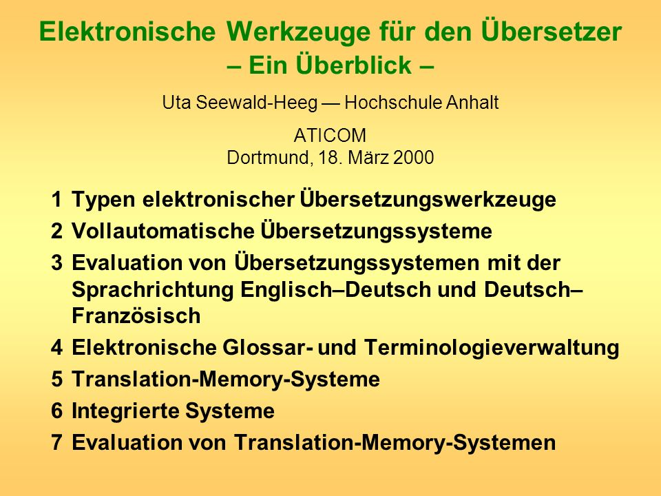 2 Terminologie- programm z.T.