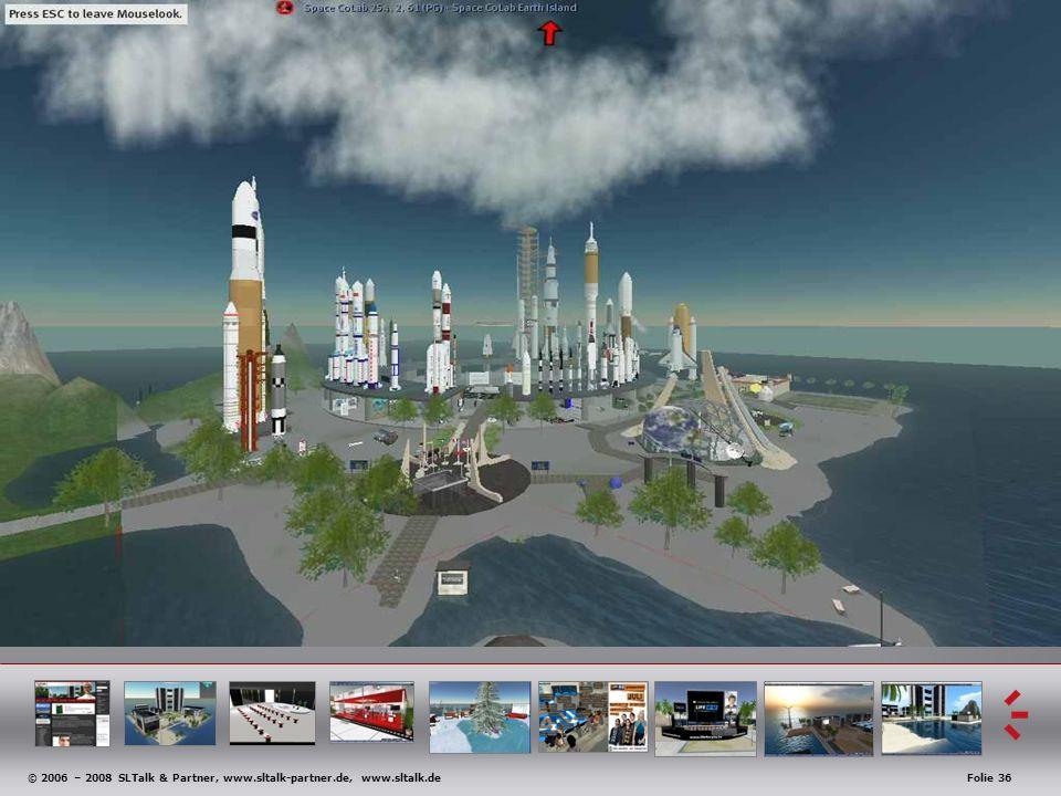 © 2006 – 2008 SLTalk & Partner, www.sltalk-partner.de, www.sltalk.deFolie 36 Anwendungsbeispiele