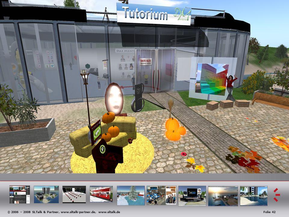 © 2006 – 2008 SLTalk & Partner, www.sltalk-partner.de, www.sltalk.deFolie 42 Anwendungsbeispiele