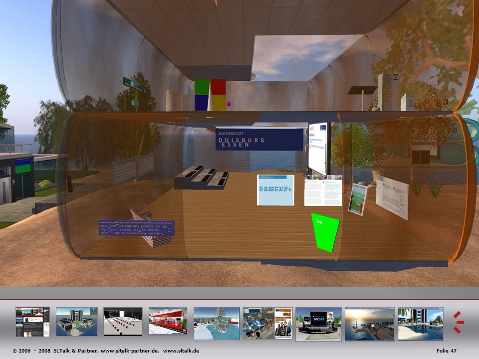 © 2006 – 2008 SLTalk & Partner, www.sltalk-partner.de, www.sltalk.deFolie 47 Anwendungsbeispiele