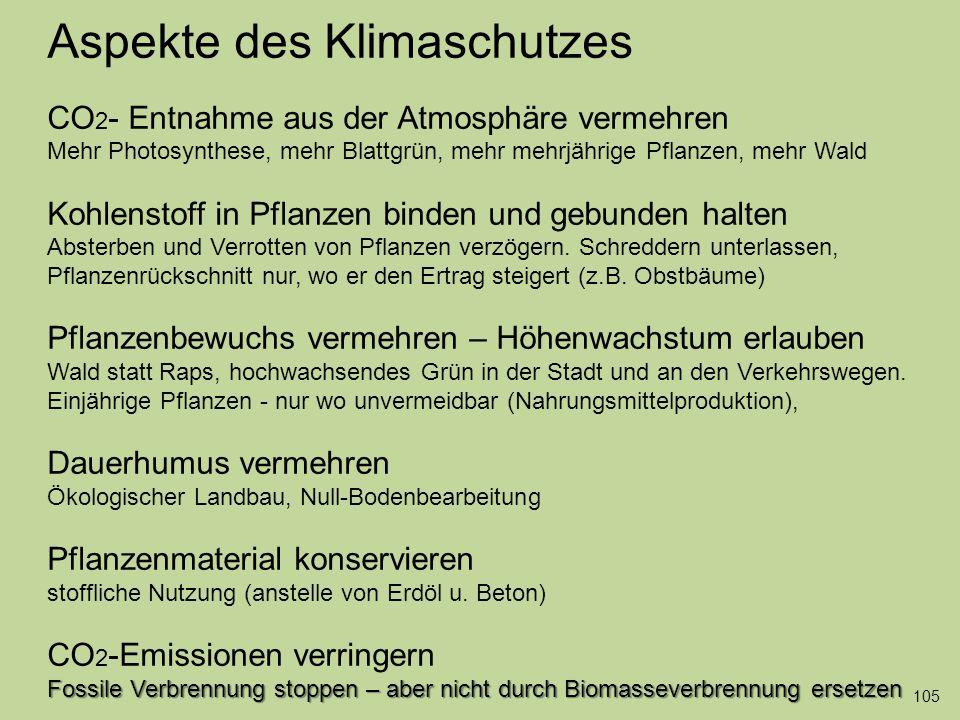 106 Fossile Verbrennung stoppen – aber nicht durch Biomasseverbrennung ersetzen