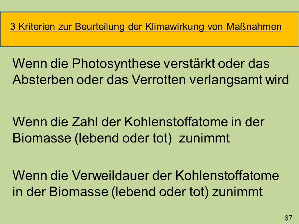 Verzögerung der CO 2 -Emissionen bei der energetischen Nutzung von Tierexkrementen Beispiel für stoffliche Verwertung von Biomasse Umwandlung von Gülle in Dünger 68 Stall