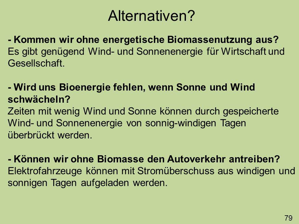 Lohnt energetische Nutzung der Biomasse.