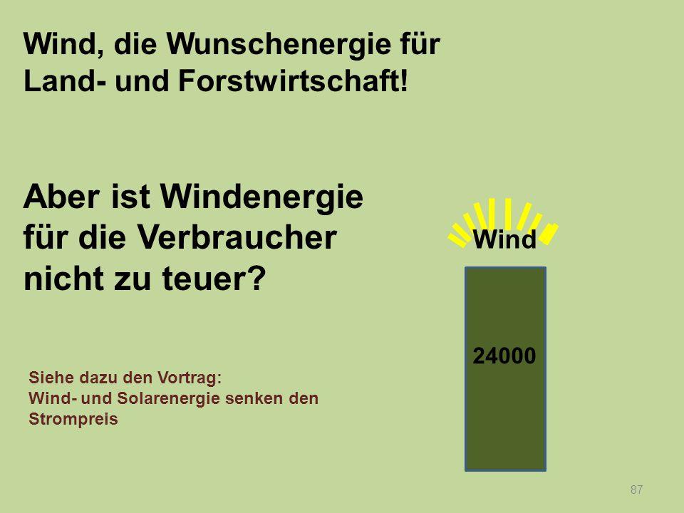 Einkaufspreis Strom- menge Preis Windstrom Einsparung durch Windstrom 88 Einsparen beim Einkauf Einspeise- vergütung Nachfrage Wind- strom- kosten