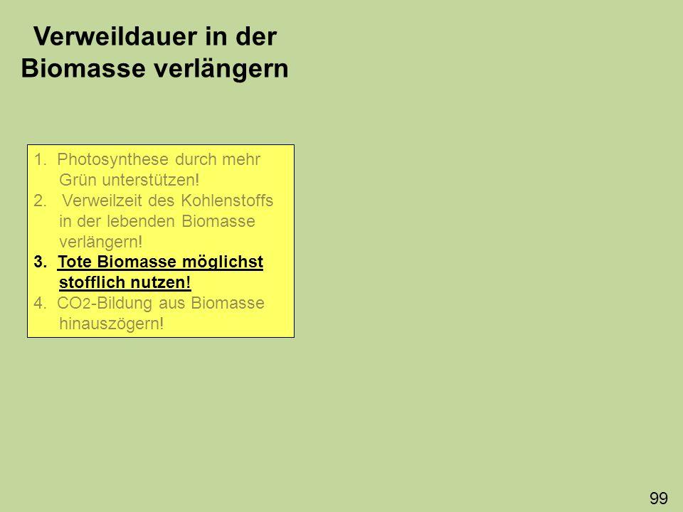 Zu 3.Bio-Landbau zur Vergrößerung der Dauerhumusschicht.