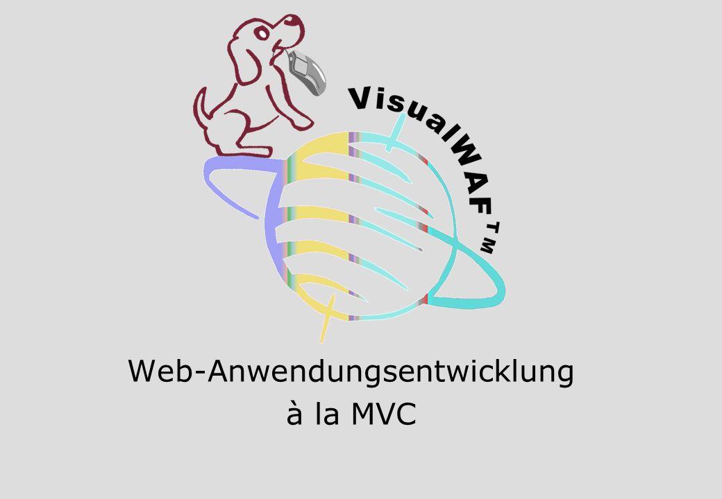Web-Anwendungsentwicklung à la MVC