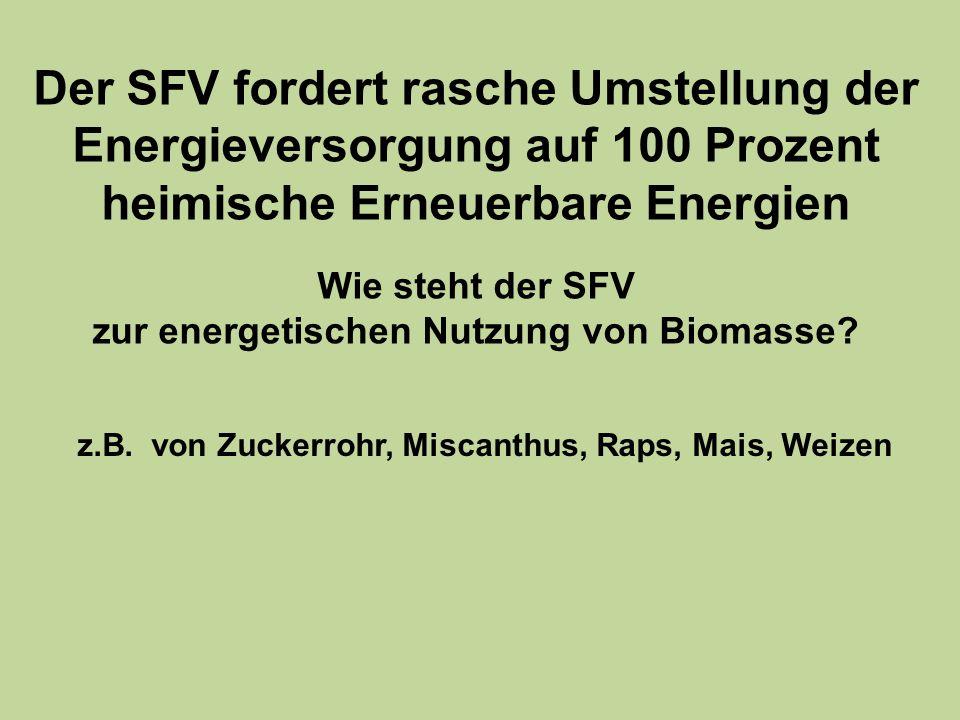 55 Raps und Miscanthus bringen erheblich weniger als Windenergie 24000 8000 1100 Raps Leindotter Mischfrucht 115 Miscanthus Wind