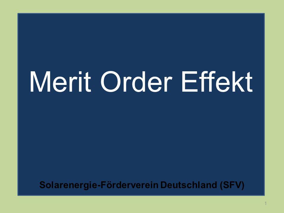 1 Merit Order Effekt Solarenergie-Förderverein Deutschland (SFV)