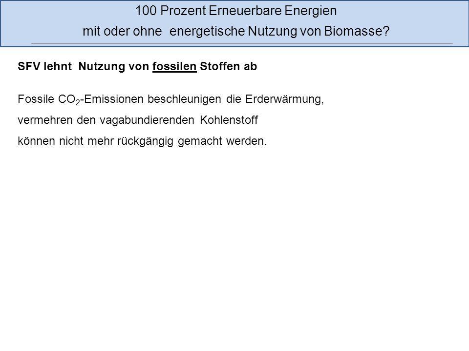 15 Etwa 8,4 Prozent des Endenergieverbrauchs wurden 2011 in Deutschland durch Biomasse gedeckt Quelle: http://www.erneuerbare-energien.de/fileadmin/ee-import/files/pdfs/allgemein/application/pdf/ee_in_deutschland_graf_tab.pdf 100 Prozent Erneuerbare Energien mit oder ohne energetische Nutzung von Biomasse.