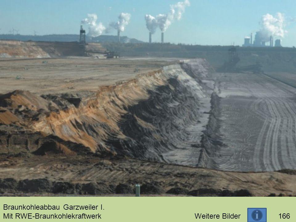 Braunkohleabbau Garzweiler I. Mit RWE-Braunkohlekraftwerk Weitere Bilder 166