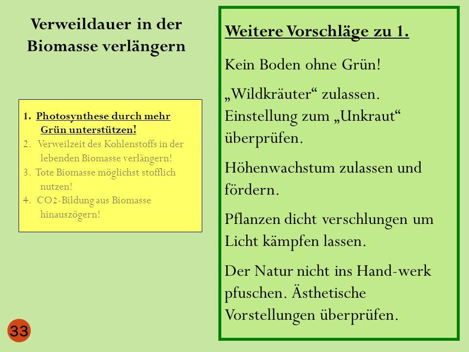 33 Weitere Vorschläge zu 1. Kein Boden ohne Grün! Wildkräuter zulassen. Einstellung zum Unkraut überprüfen. Höhenwachstum zulassen und fördern. Pflanz