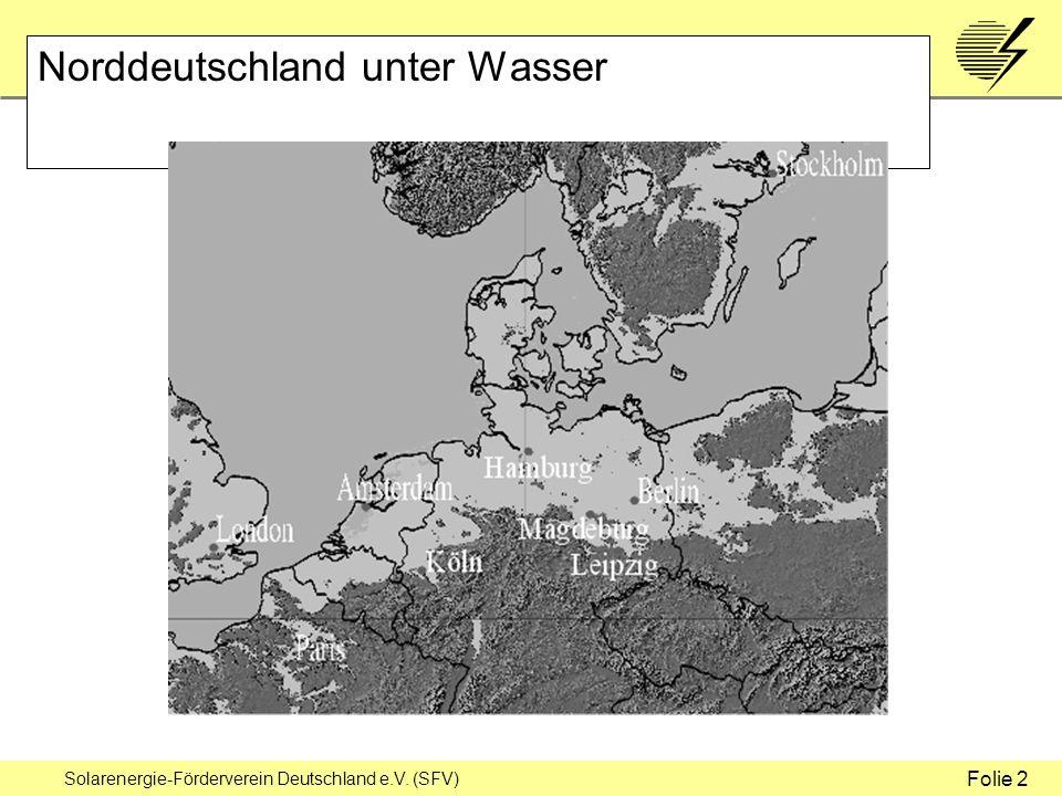 Solarenergie-Förderverein Deutschland e.V. (SFV) Norddeutschland unter Wasser Folie 2