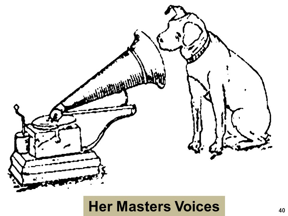 Her Masters Voices 40