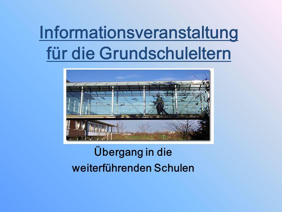 Termine Informationsveranstaltung über das MGTT Freitag, 15.