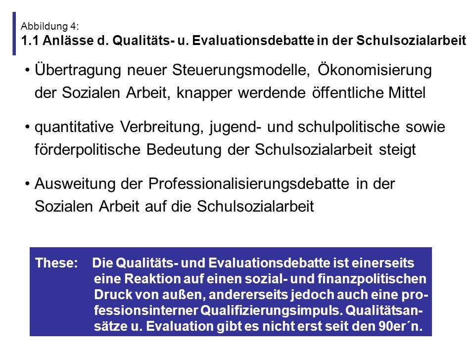 Abbildung 5: 1.2 Was ist das Neue an der Qualitäts- und Evaluationsdebatte.