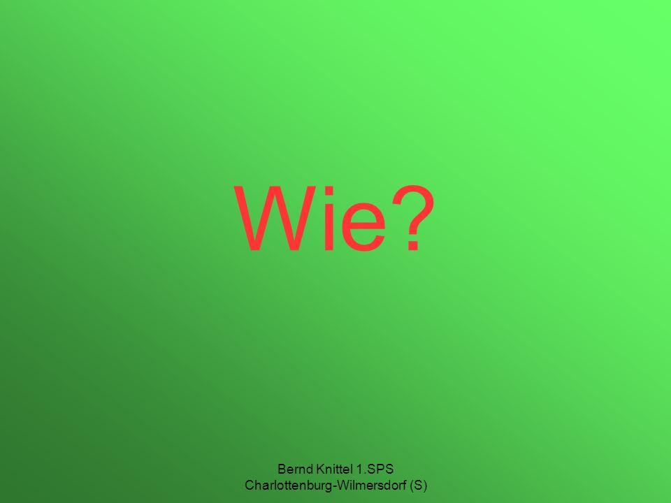 Bernd Knittel 1.SPS Charlottenburg-Wilmersdorf (S) Wie?