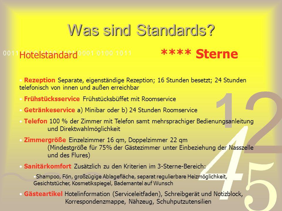 Was sind Standards.