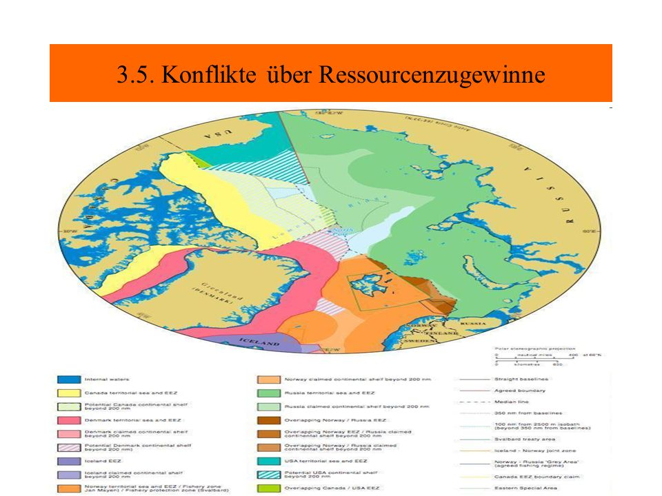 3.5. Konflikte über Ressourcenzugewinne